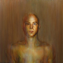 Abraham Brewster, Finding, Iteration 2. 2004. Oil on canvas.