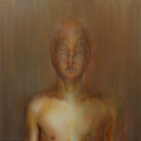 Abraham Brewster, Finding, Iteration 3. 2004. Oil on canvas.