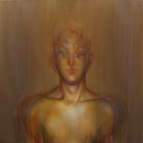 Abraham Brewster, Finding, Iteration 4. 2004. Oil on canvas.