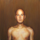 Abraham Brewster, Finding, Iteration 5, Control 2. 2004. Oil on canvas.
