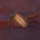 Abraham Brewster, Three Studies of Hands (3), 2004. Oil on canvas.