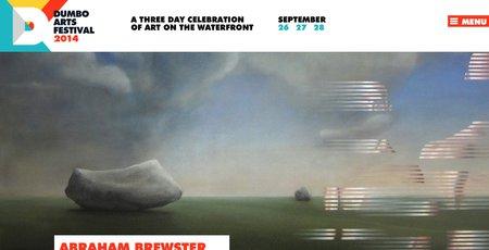 Abraham Brewster DUMBO Arts Festival 2014