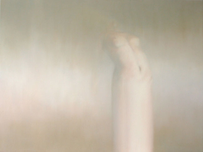 Abraham Brewster, Apparition, 2006. Oil on canvas