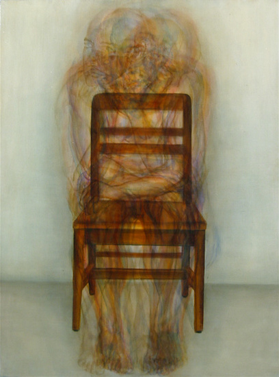 Abraham Brewster, Untitled (Chair), 2005. Oil on canvas