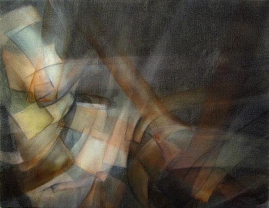 Abraham Brewster, Tangent, 2008.  Oil on Canvas.