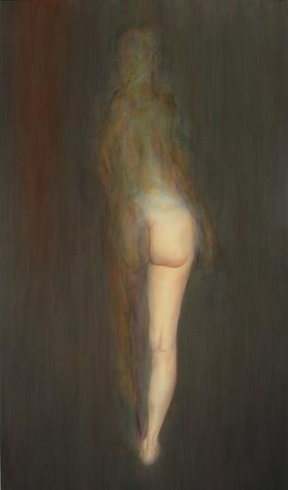 Abraham Brewster, Veil, 2004. Oil on canvas
