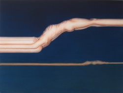 Abraham Brewster, I Have Looked, I Know. 2006. Oil on Canvas