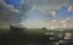Abraham Brewster, Here and There, Oil on Canvas