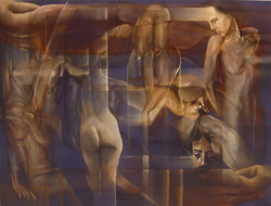 Abraham Brewster, Memoir, 2006. Oil on Canvas